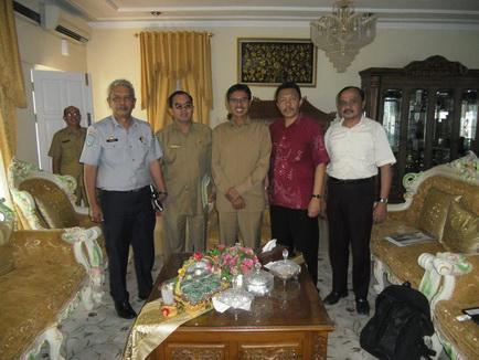 Audiensi IRPS SUMBAR-RIAU Dengan Gubernur Sumatera Barat