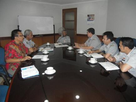 IRPS Sumbar-Riau Memfasilitasi pertemuan Gubernur Sumatera Barat dengan Dirjen KA