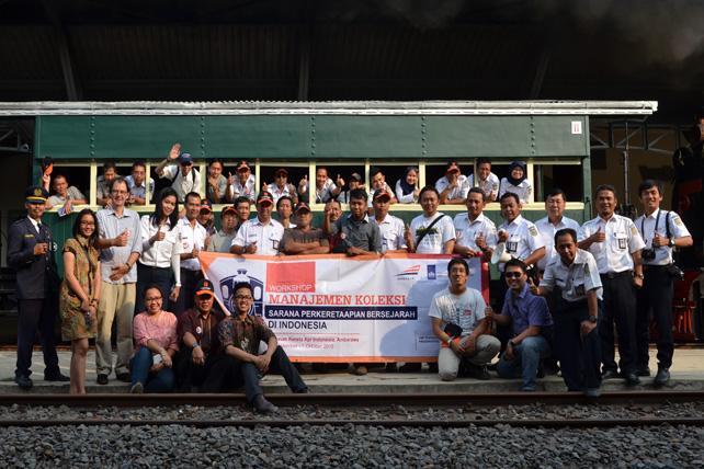 Workshop Manajemen Koleksi Sarana Perkeretaapian Bersejarah di Indonesia