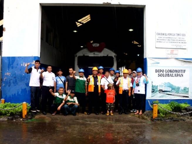 Peringatan 146 Tahun Jalur KA Semarang-Solo