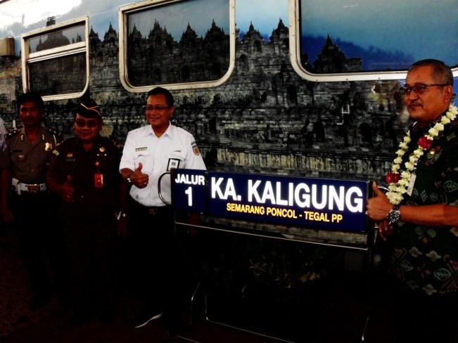 Peluncuran KA New Kaligung Borobudur