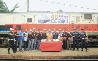 "IRPS Mengadakan Syukuran ""40 Tahun Lokomotif CC201 di Indonesia"""