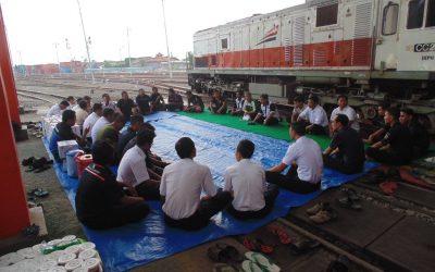 Buka Puasa Bersama di Dipo Lokomotif Semarang Poncol