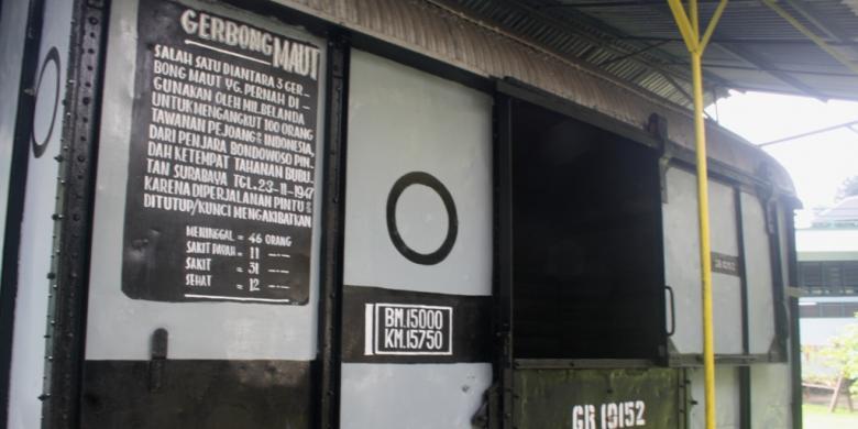 Museum Saksi Kisah Gerbong Maut Bondowoso