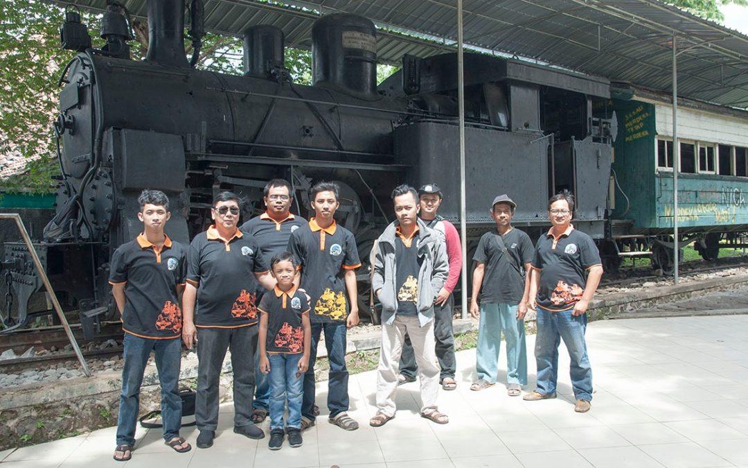 Peringatan 114 Tahun Masa Dinas Lokomotif B25 di Indonesia