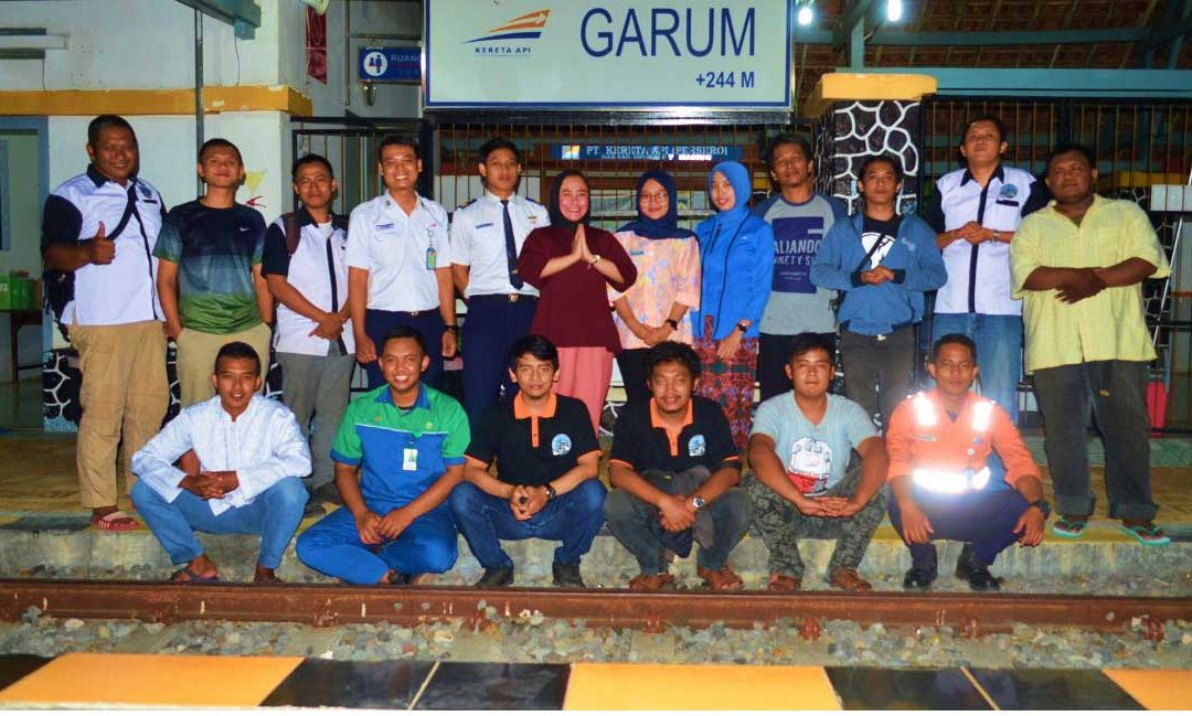 Silaturahim dan Buka Puasa Bersama IRPS Surabaya dan Kru Stasiun Garum