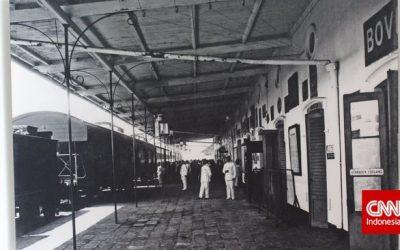 Hebatnya Stasiun KA Kuno, Dilengkapi Kanal Sendiri