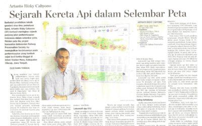 Artanto Rizky Cahyono: Sejarah Kereta Api dalam Selembar Peta