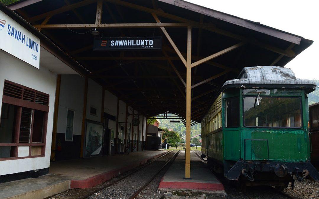 Museum Sawahlunto, Bagian Sejarah Kereta Api Sumatera