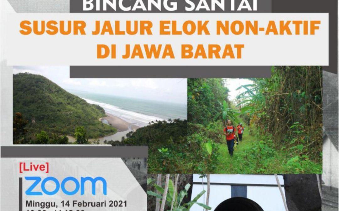 """Jelajah Jalur Non Aktif Virtual """"Susur Jalur Elok Non Aktif di Jawa Barat"""""""